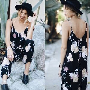 NEW Floral All Over Printed Jumpsuit
